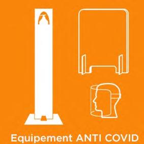equipement anti covid Aluplex Signaletique
