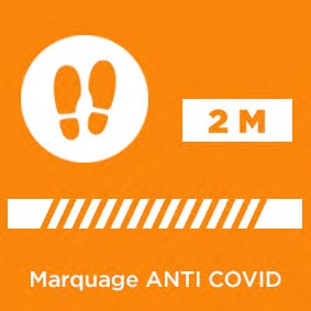 Marquage ANTI COVID