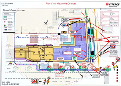 plan installation chantier aluplex signaletique