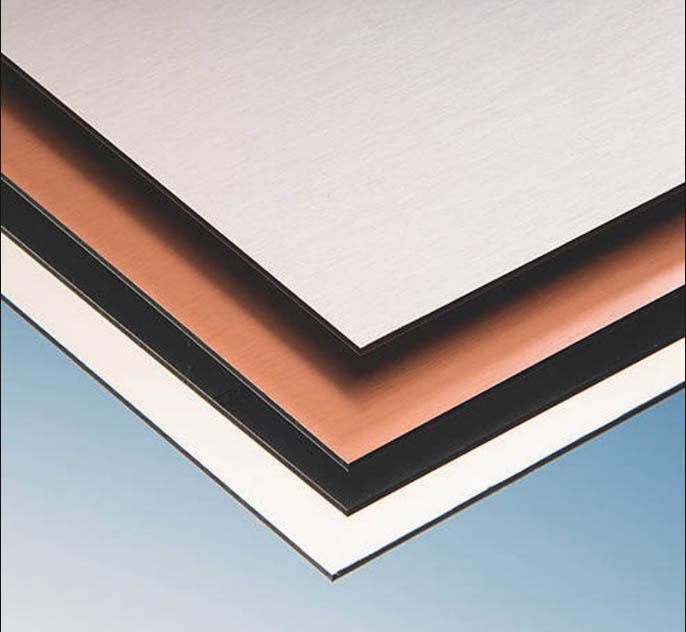 aspects plaques dibond