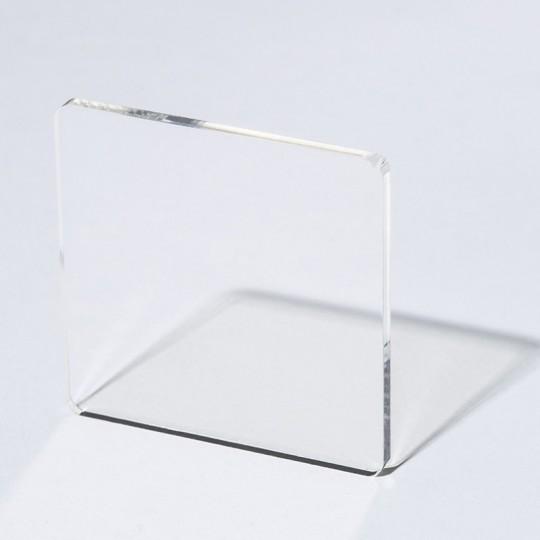 plexiglas coule transparent