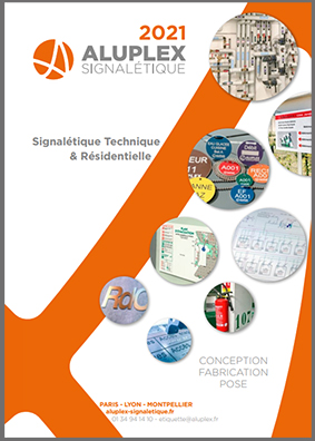 CATALOGUE 2021 ALUPLEX SIGNALETIQUE